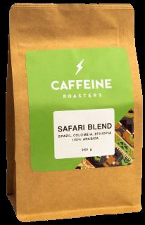 Safari Blend  Tegemist on kohviubade seguga. Sobib hästi kasutamiseks kohvimasinas.  Röst: keskmine Maitseprofiil: tume šokolaad, pähklid, täidlane Kõrgus: 1200-1800 m